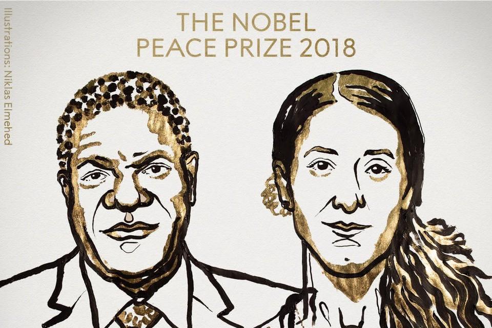 Нобелевскую премию вручили медику Денису Муквеге и правозащитнице Надии Мурад