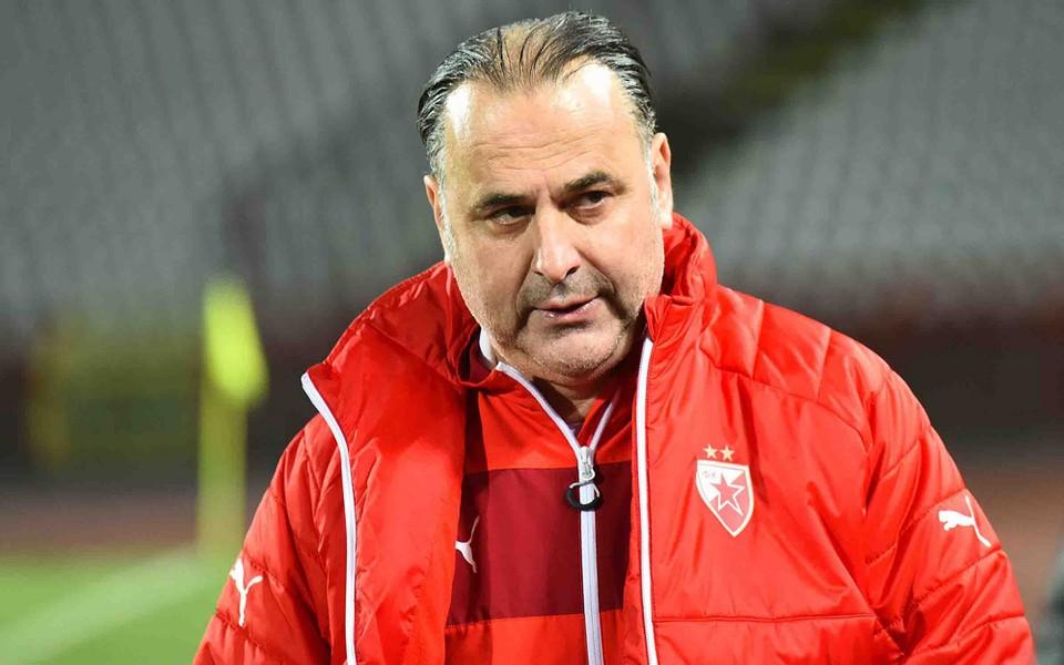 В послужном списке Божовича золотые и серебряные медали чемпионата Сербии вместе с «Црвеной Звездой». Фото: www.crvenazvezdafk.com/