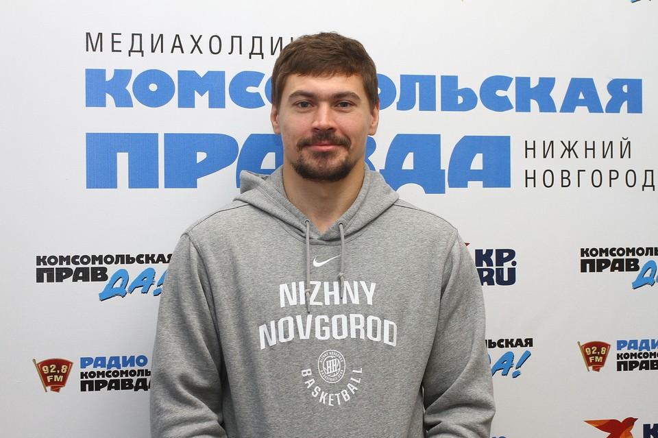 Игрок БК «НН» Евгений Бабурин: «Лидер команды? Не знаю, но буду помогать ребятам советами и действиями»