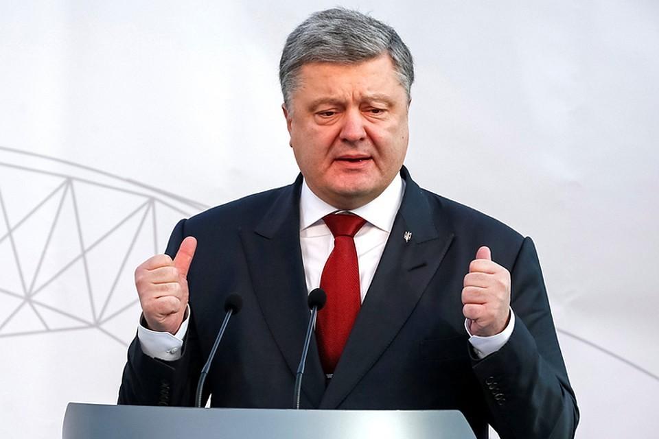 Порошенко поручил определить морские границы с Россией
