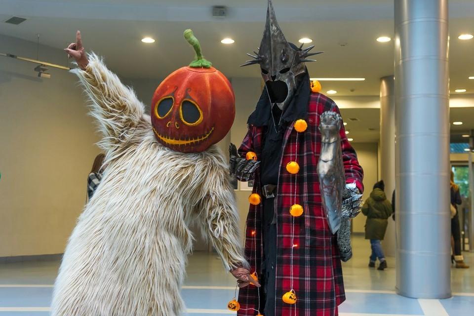 Хэллоуин празднуют с 31 октября на 1 ноября.