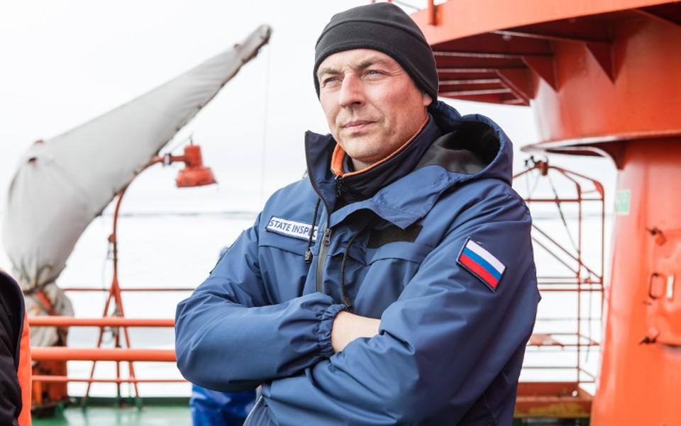 Михаил Корельский. Человек, работа которого - ходить на Северный полюс. Фото: Николай Гернет.