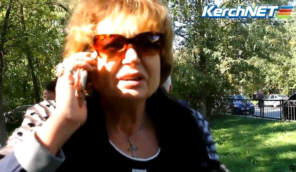 Директор Керченского политехнического колледжа Ольга Гребенникова. ФОТО Youtube/Kerchnet
