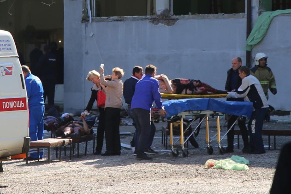 Нападение на Керченский политехнический колледж произошло 17 октября в 11:40 по московскому времени