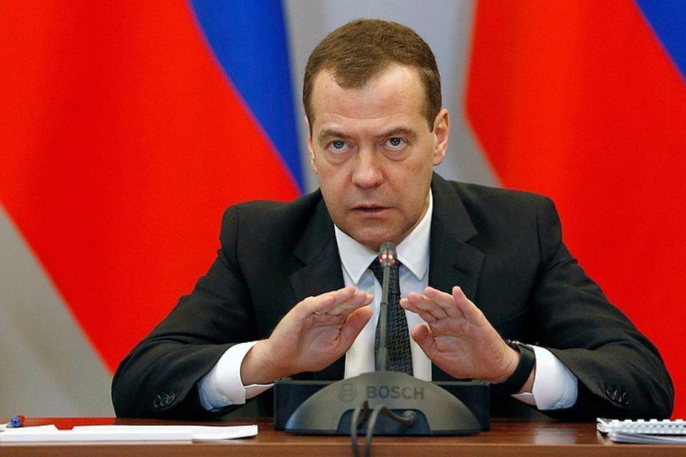 Премьер-министр РФ Дмитрий Медведев. Фото: Дмитрий Астахов/пресс-служба правительства РФ/ТАСС