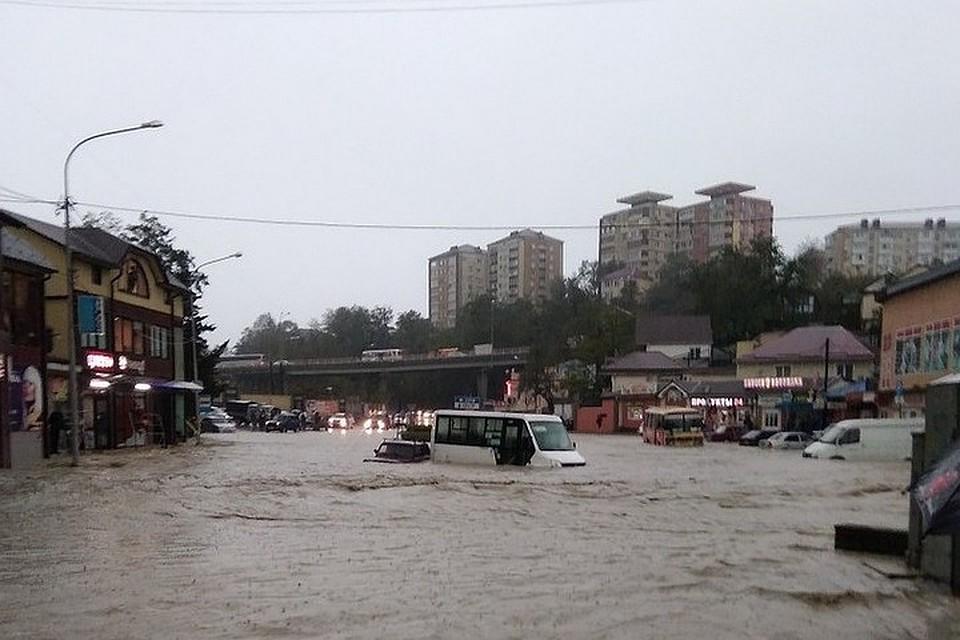 В Туапсинском районе первая жертва стихии