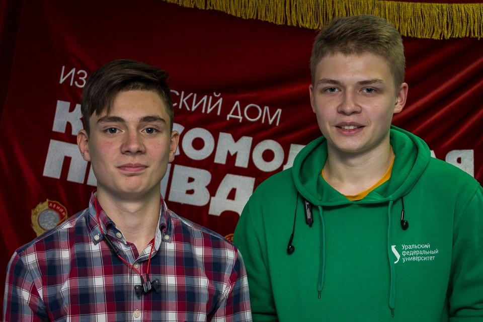 Данил Владимиров и Всеволод Веденский