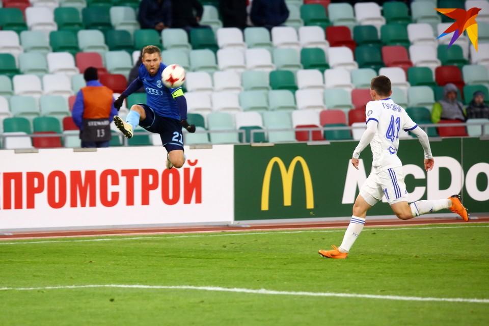Летучий беларус Олег Веретило.