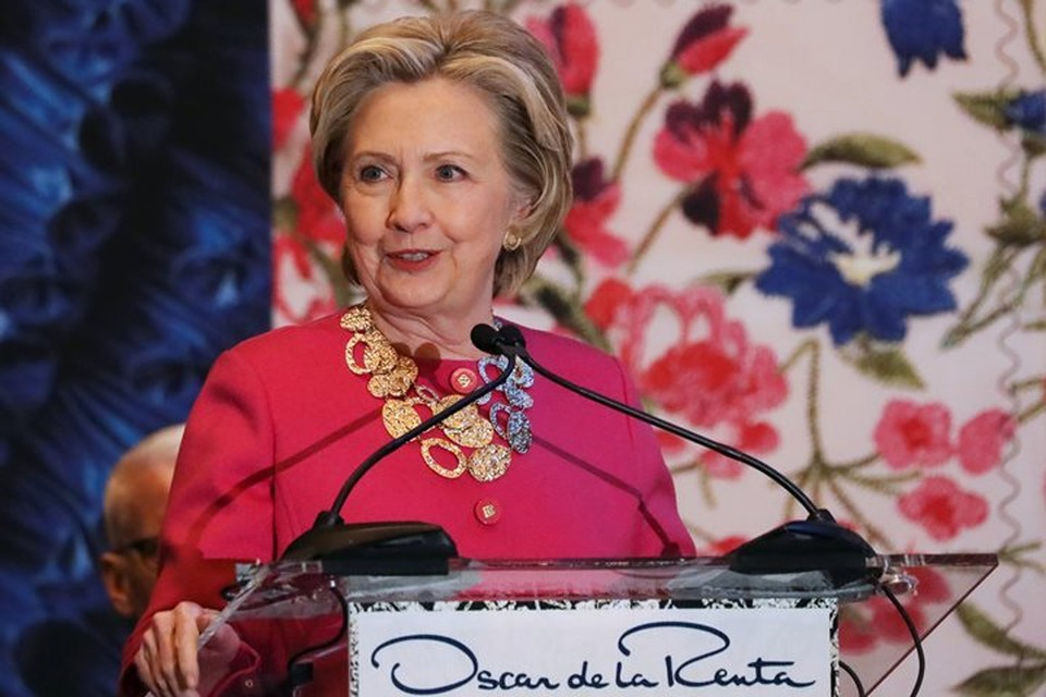 Экс-госсекретарь, бывший кандидат в президенты США Хиллари Клинтон