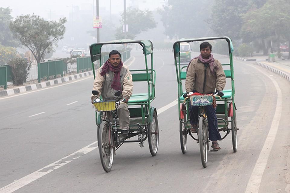 Столица Индии входит в число самых загрязненных в мире городов