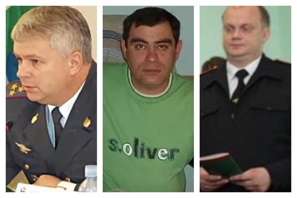 Подозреваемые 51-летний Эдуард Матвеев, 50-летний Салават Галиев и 34-летний Павел Яромчук