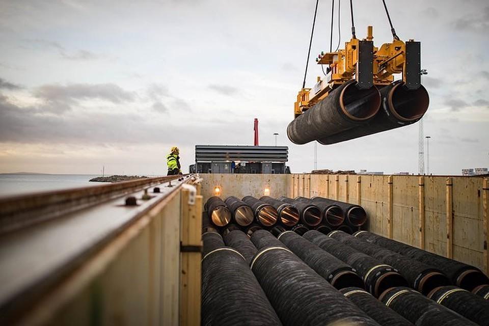 Nord Stream 2 AG отчиталась о прокладке более 200 км газопровода «Северный поток-2»