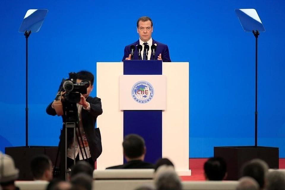 Премьер-министр Дмитрий Медведев уверен, что санкции США направлены исключительно на решение внутриполитических задач