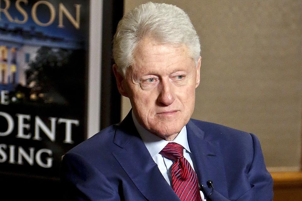 Экс-президент США Билл Клинтон в мае 2018 года.