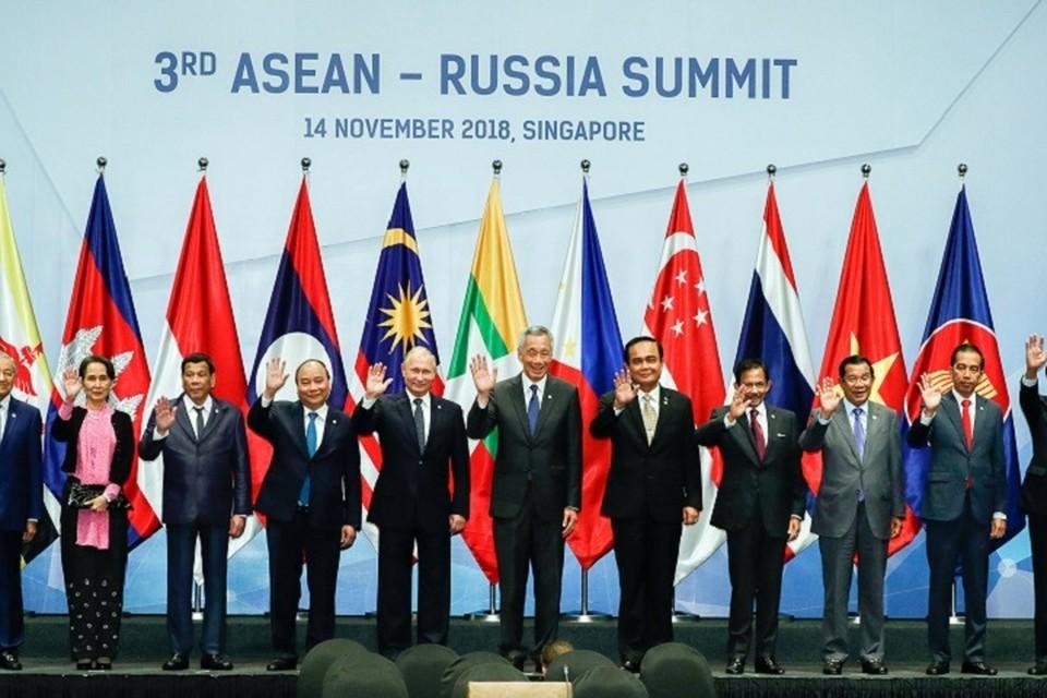 Саммит Россия - АСЕАН проходит 14 ноября в Сингапуре