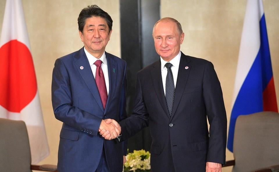 Япония готова возобновить переговоры по Курильским островам