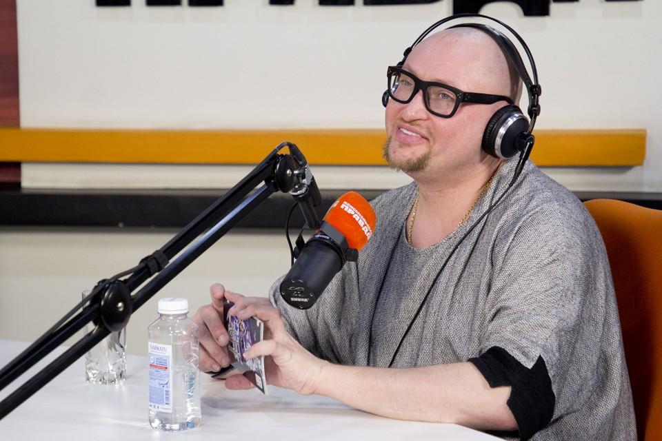 "Певец Шура в студии радио ""Комсомольская правда"" Иркутск на 91,5 FM"