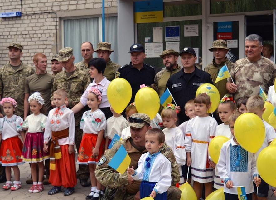Просто утренник в 20 км от Донецка. Фото: 06236.com.ua