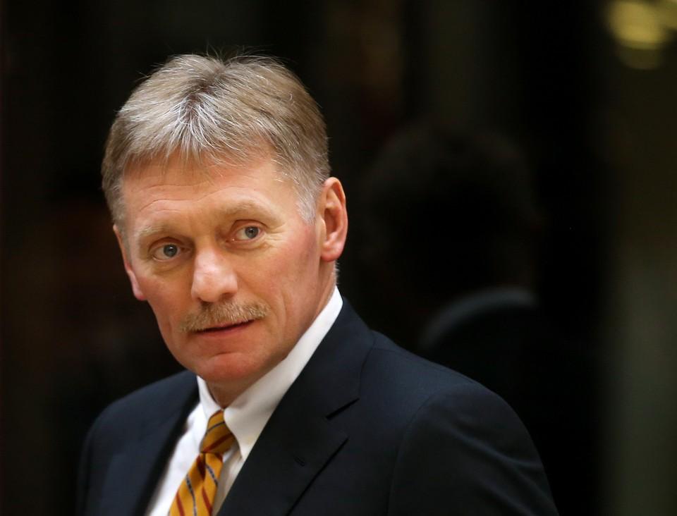 Дмитрий Песков. Фото: Валерий Шарифулин ТАСС