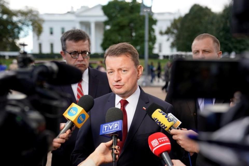 Министр внутренних дел Польши Мариуш Блащак в Вашингтоне