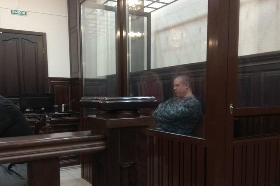 Сергей Антюшин в зале суда