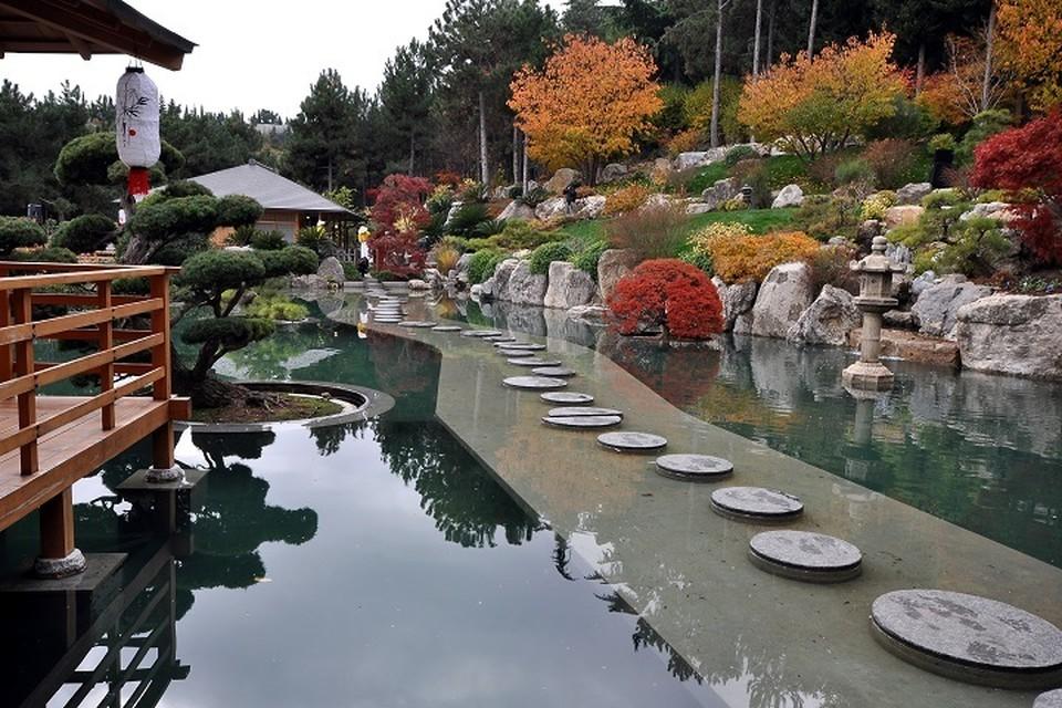 В Крыму после реконструкции открылся уникальный Японский сад