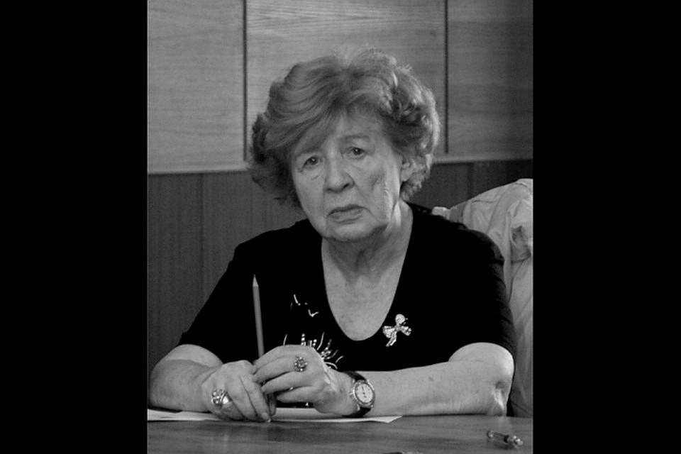 Инну Вишневскую помнят как непревзойденную рассказчицу, бесконечно талантливую, свободную, неповторимую женщину. ФОТО litinstitut.ru