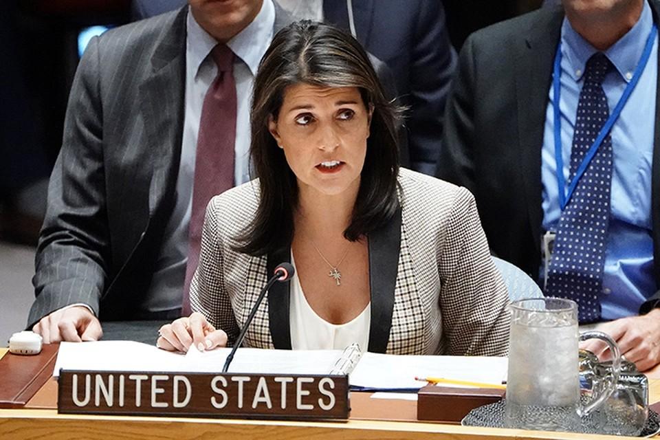 Шесть стран все же прислушались к увещеваниям постпреда США Ники Хейли