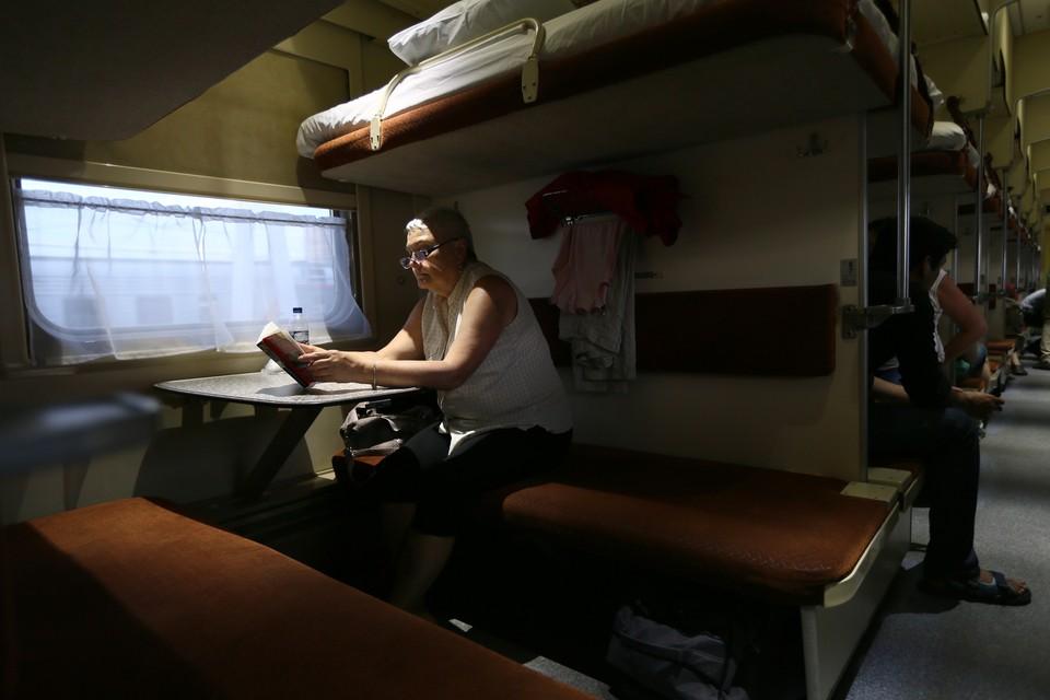 Испанский журналист назвал свою поездку по России в плацкартном вагоне «волшебной». Фото: Александр Щербак ТАСС