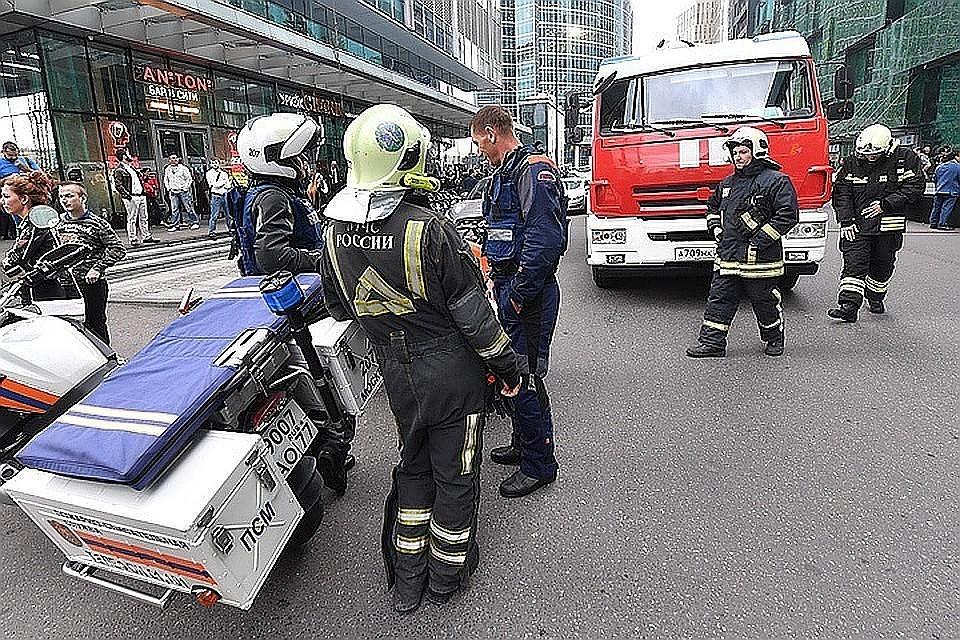 В нескольких крупных торговых центрах Москвы была проведена эвакуация 2208e7be1c4