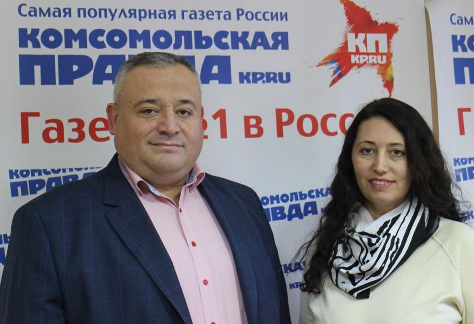 Сергей Ерхан и Людмила Корсун