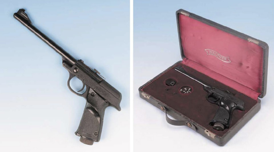 Первый пистолет Джеймса Бонда выставят на торги в Лондоне. Фото с сайта Christie's.