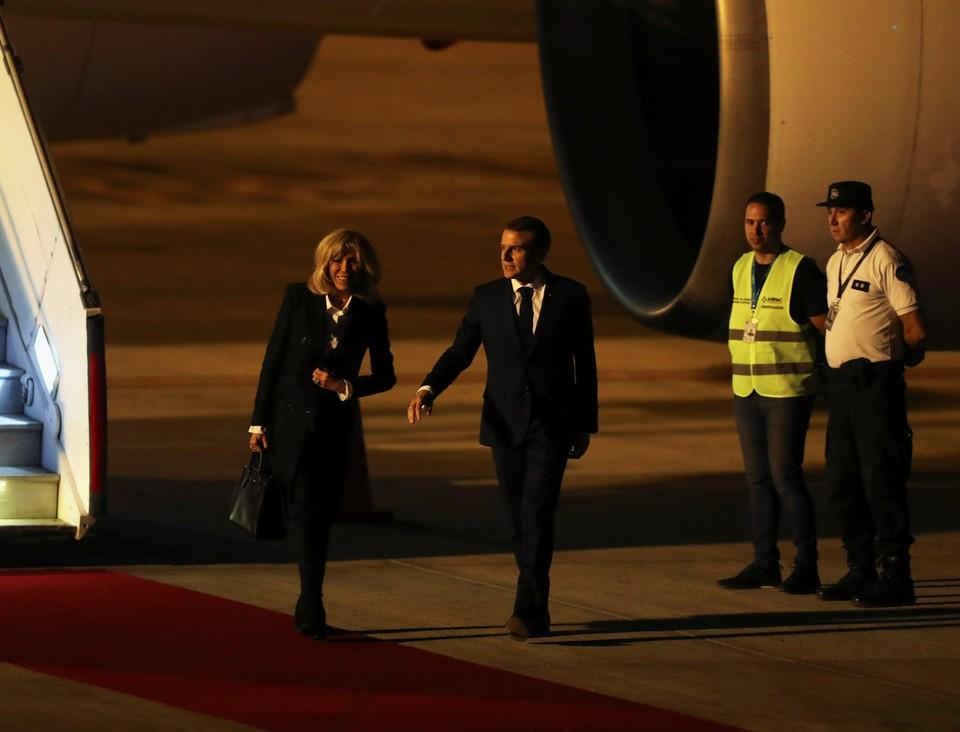 В Аргентине не встретили Макрона по прилету на G20