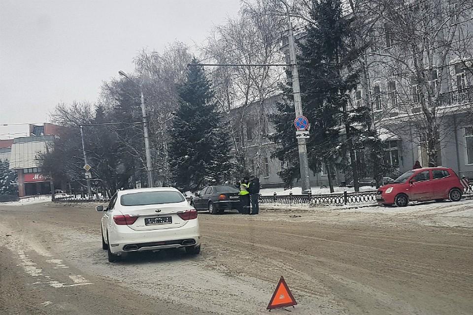 Сверловский мэр попал в аварию