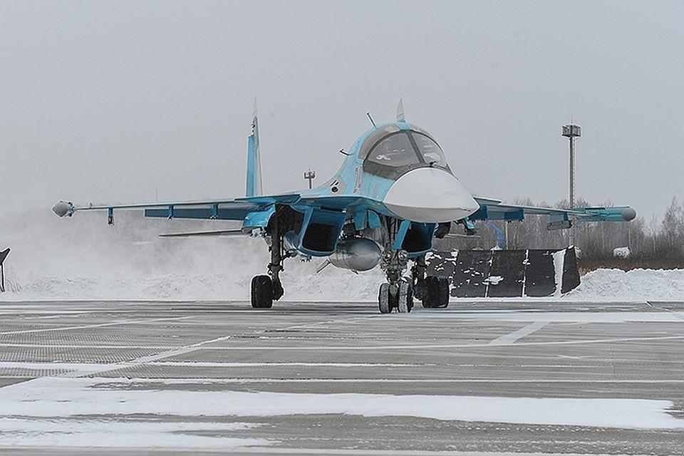 Су-34 теперь базируются на Южном Урале.