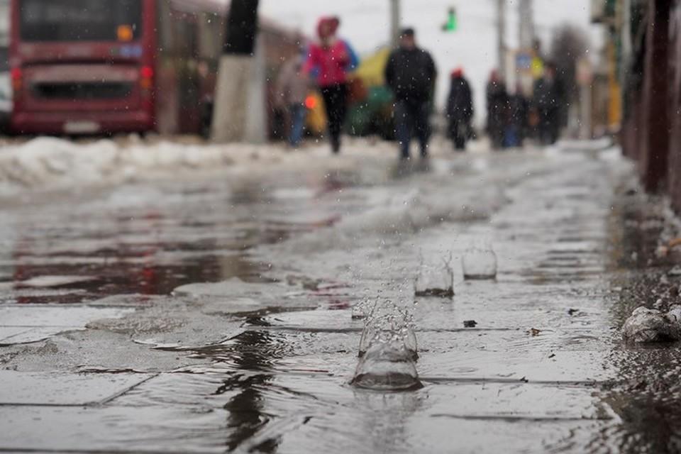 В понедельник, 10 декабря, в Москве будет около нуля градусов