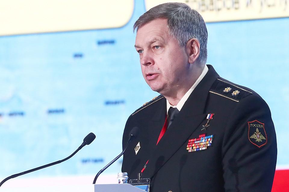 Вице-адмирал Игорь Костюков. ФОТО Станислав Красильников/ТАСС