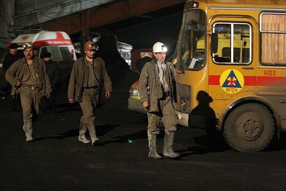 118 горняков эвакуировали из-за пожара на шахте в Кузбассе 469ef368d98