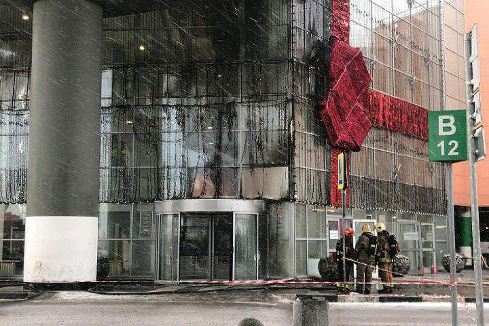 Из здания торгового центра были эвакуированы более пятисот человек. 7c4657b325e