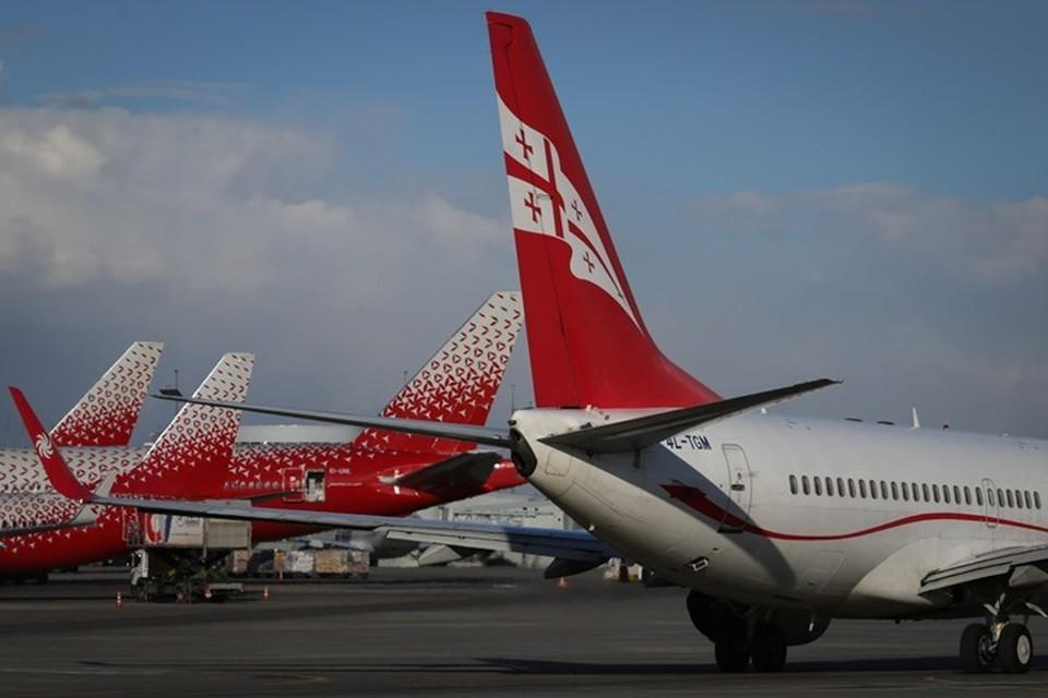 Самолеты авиакомпании Georgian Airways
