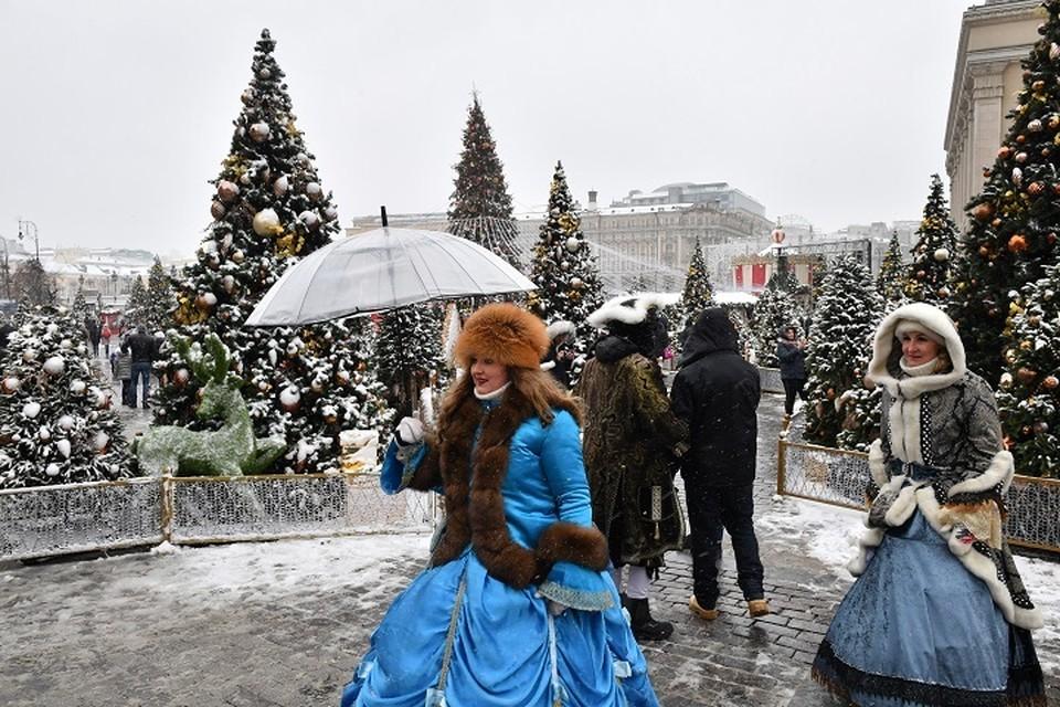 В субботу, 15 декабря, в Москве ожидается небольшой снег и до -6 градусов
