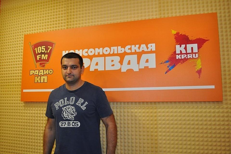Заместитель главного врача СККБ, руководитель Регионального сосудистого центра Михаил Гаспарян