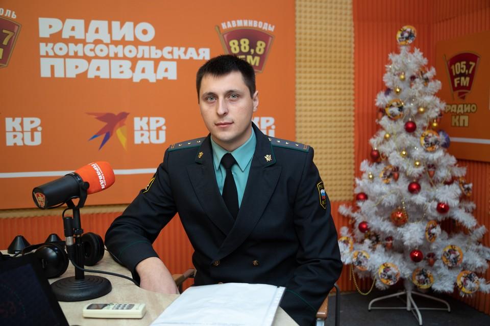 Старший судебный пристав отдела по взысканию алиментных платежей по городу Ставрополю, Грачевскому и Шпаковскому районам Игорь Данилкив
