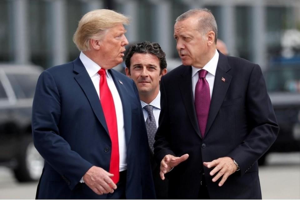 Президент Турции рассказал о телефонном разговоре с Дональдом Трампом