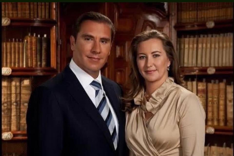 Сенатор парламента Мексики, бывший губернатор штата Пуэбла Рафаэль Морено Валье и его супруга, действующий губернатор штата Пуэбла Мартина Эрика Алонсо