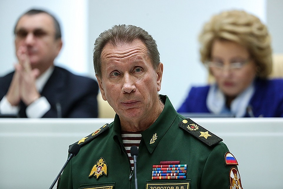 Директор Росгвардии Виктор Золотов. Фото: Валерий Шарифулин/ТАСС