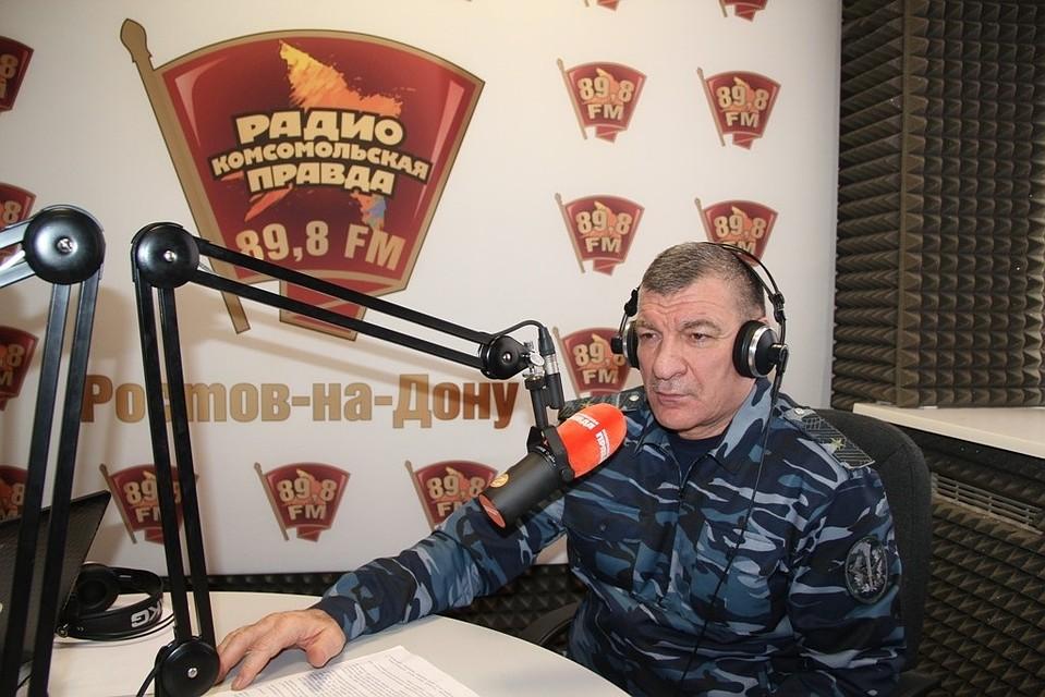 """Генерал-майор дал большое интервью """"Комсомолке"""". Фото: пресс-служба ГУФСИН по РО"""