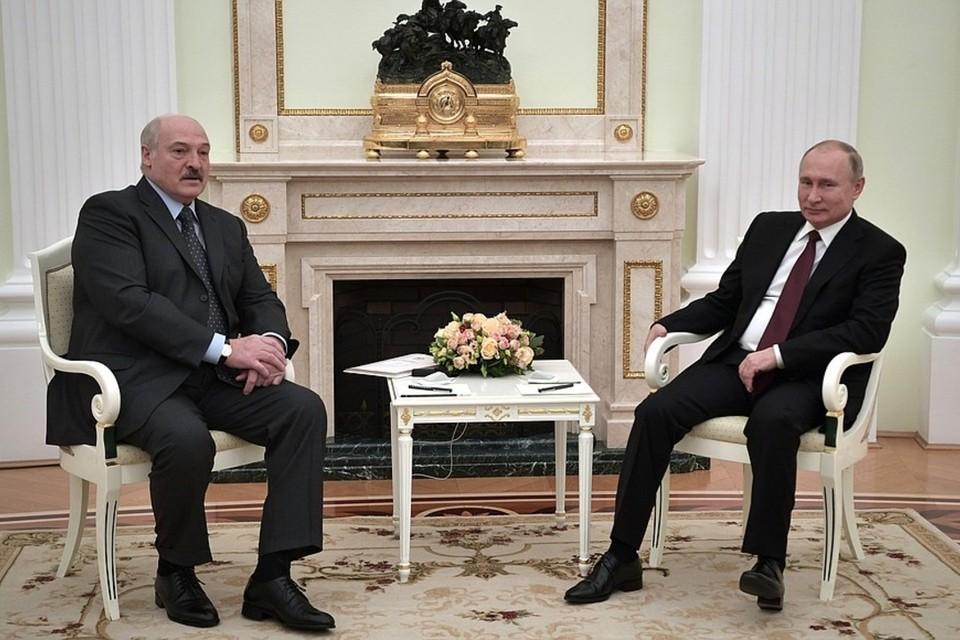«Я пошутил, что мы надоели друг другу». Лукашенко и Путин встретились в третий раз за декабрь