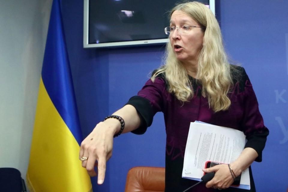 Исполняющая обязанности министра здравоохранения Украины Ульяна Супрун возглавила рейтинг местных политиков с наихудшей репутацией