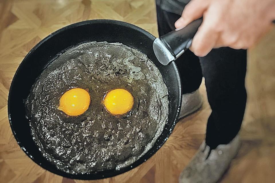 Обстановка в стране такова, что не затронуть тему яиц нет решительно никакой возможности. Все затронули, а отчаянный домохозяин молчит? Как-то это не по-мужски